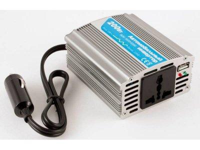 Товар почтой Автоинвертер Buro BUM-8103CI200 200W/220V/50Hz/0,5A USB Port