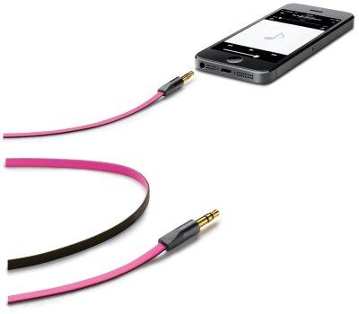Товар почтой Кабель 3,5 мм Cellularline, розовый