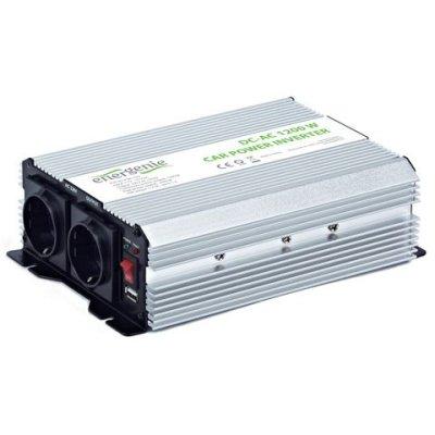 Товар почтой Автоинвертор Energenie EG-PWC-035 1200W USB (1200 Вт) преобразователь с 12 В на 220 В