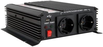 Товар почтой Автоинвертор AcmePower AP-DS1000/12 (1000 Вт) преобразователь с 12 В на 220 В