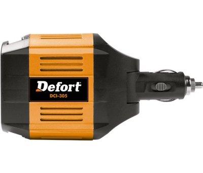 Товар почтой Автоинвертор Defort DCI-305 (300 Вт) 98298451 преобразователь с 12 В на 220 В