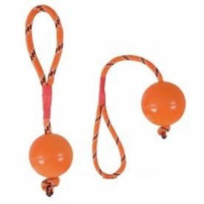 """Товар почтой Игрушка д/собак """"Каучуковый мяч 4,5 см на канате"""", 20 см(33101)"""