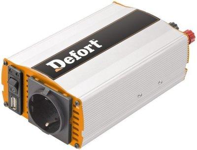 Товар почтой Автоинвертор Defort DCI-600 (600 Вт) 98298598 преобразователь с 12 В на 220 В