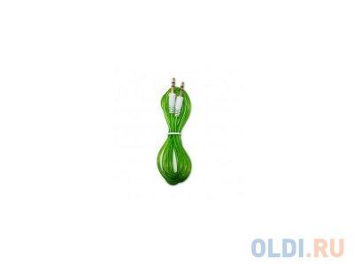 Товар почтой Кабель 1.5 м CBR 3.5 Jack (M) - 3.5 Jack (M) зеленый CB 10