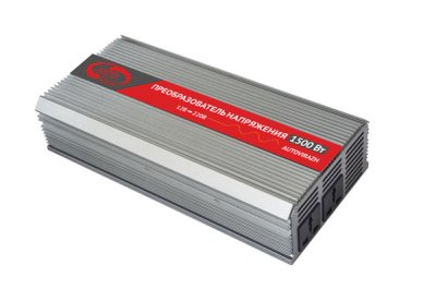 Товар почтой Автоинвертор Autovirazh AV-151500 USB (1500-3000 Вт) преобразователь с 12 В на 220 В