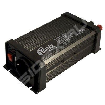 Товар почтой Инвертор авто RITMIX RPI-4001 (1 USB порт 5 В, Вых мощ. макс. - 400 Вт, защита от низкого/высокого н