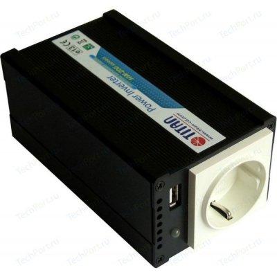 Товар почтой Преобразователь напряжения 200W Titan HW-200E6 DC12-24V/AC220V, 200W