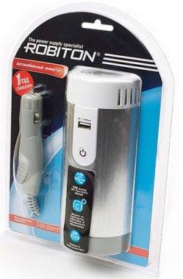 Товар почтой Robiton R1 автомобильный преобразователь напряжения 12 В-220 В, 150 Вт