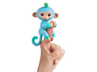 Товар почтой Игрушка WowWee Fingerlings Обезьянка Чарли Blue-Green 3723