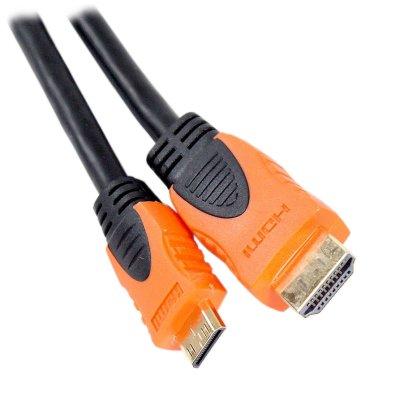Товар почтой Кабель AOpen HDMI to mini HDMI (19M -19M) 1.8 м, ver1.4 (ACG582O-1.8 м)