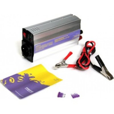 Товар почтой Автомобильный преобразователь напряжения KS-is Finvy, 500W, DC (12V) / AC (220V), от аккумулятора,