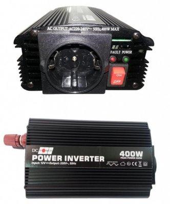 Товар почтой Автоинвертор DC Power DS-400/12 400W (400 Вт) преобразователь с 12 В на 220 В