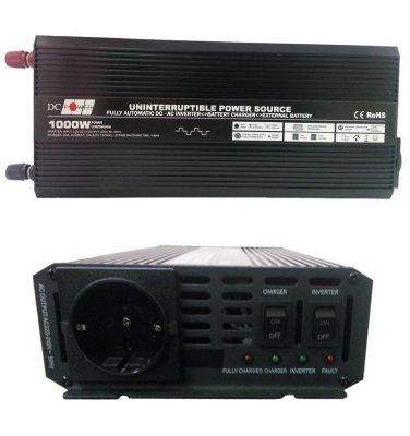 Товар почтой Автоинвертор DC Power DS-UPS1000/12 1000W (1000 Вт) преобразователь с 12 В на 220 В