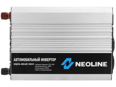 Товар почтой Neoline 1500W автомобильный преобразователь напряжения 12 В-230 В, 1500 Вт