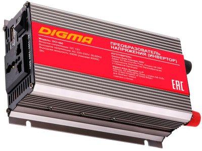 Товар почтой Автомобильный инвертор напряжения Digma DCI-400 400 Вт