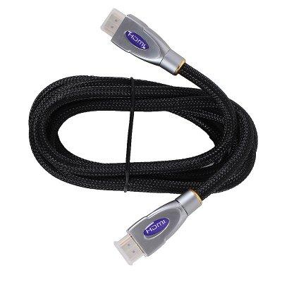 Товар почтой Кабель 3Cott HDMI высшей категории 19M/M 3C-HDMI-030GPMPNM-1.8M, Версия 1.4, 3D + Ethernet, 30AWG, п