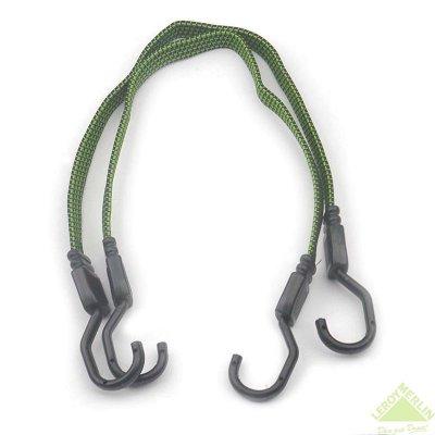 Товар почтой Веревка эластичная 60 смх 18 мм, каучук, прочность 50 кг, 2 шт.