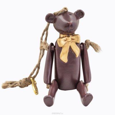 """Товар почтой Игрушка """"Счастье с праздничным бантом"""", цвет: молочный шоколад"""